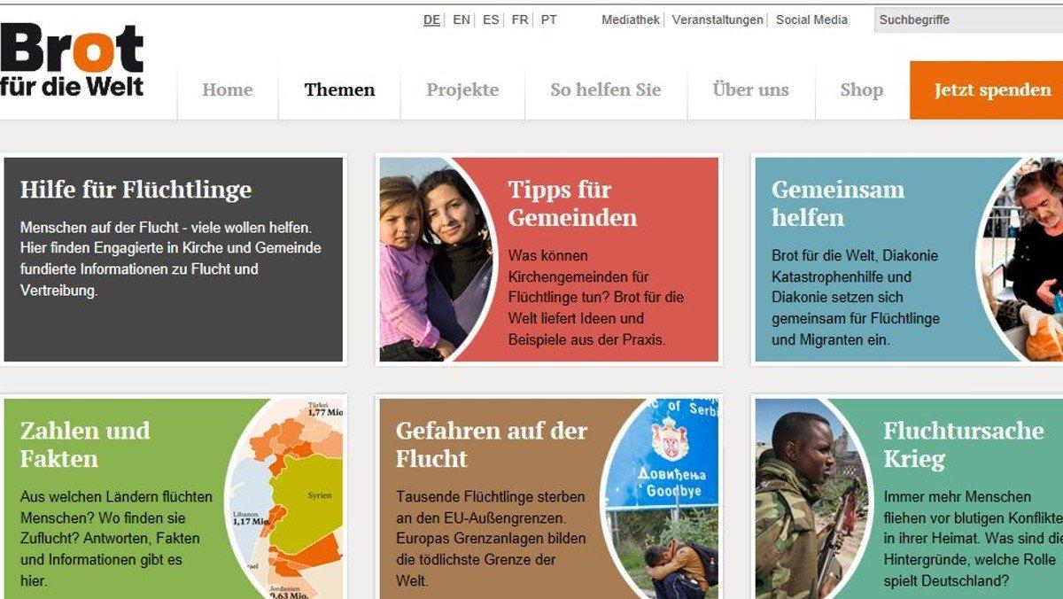 """Fluchtursachen und Hilfsmöglichkeiten:""""Brot für die Welt"""" informiert"""