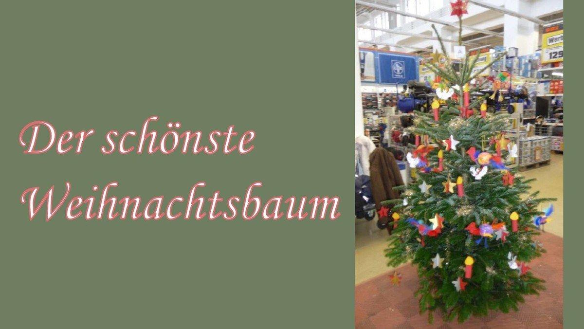 Wer Schmuckt Den Schonsten Weihnachtsbaum Ev
