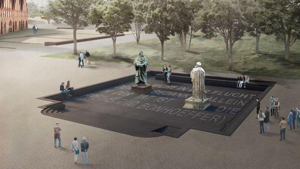Neugestaltung Luther-Denkmal: Gewinner des Ideenwettbewerbs steht fest