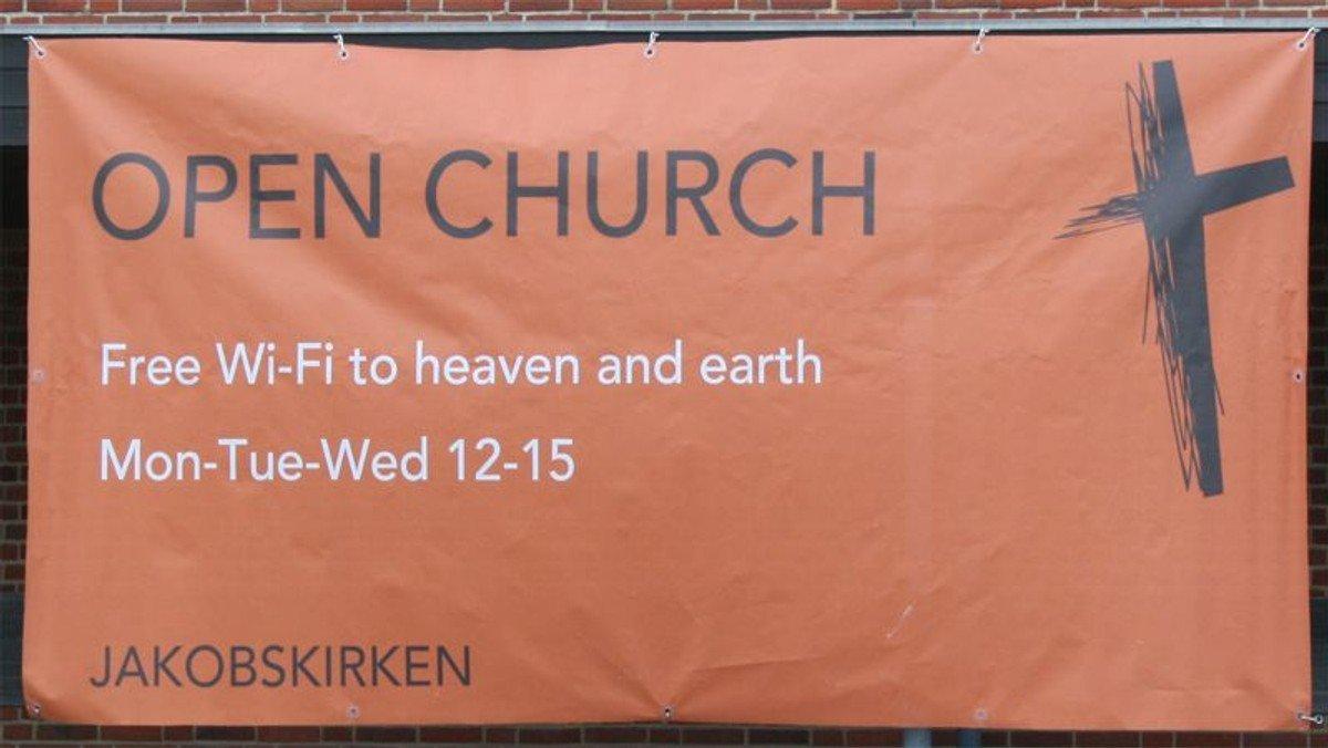 Free wifi to heaven and earth