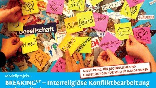 Neue Kurse: Breaking up – Interreligiöse Konfliktbearbeitung und Mediation