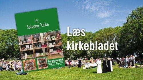 Kirkeblad - marts - maj 2016