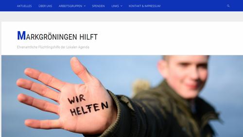 Flüchtlinge - MARKGRÖNINGEN HILFT