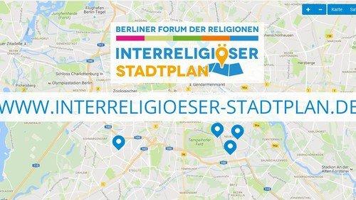 Ein interreligiöser Stadtplan von Berlin