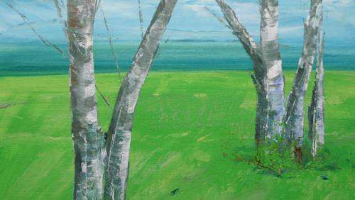 Malerei der Landschaft