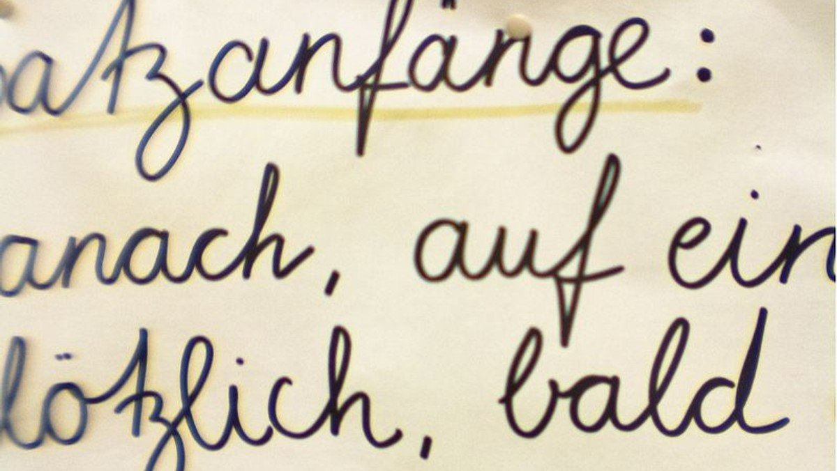 Deutschkurs für weibliche Flüchtlinge in St. Markus – German Classes for Women by Women