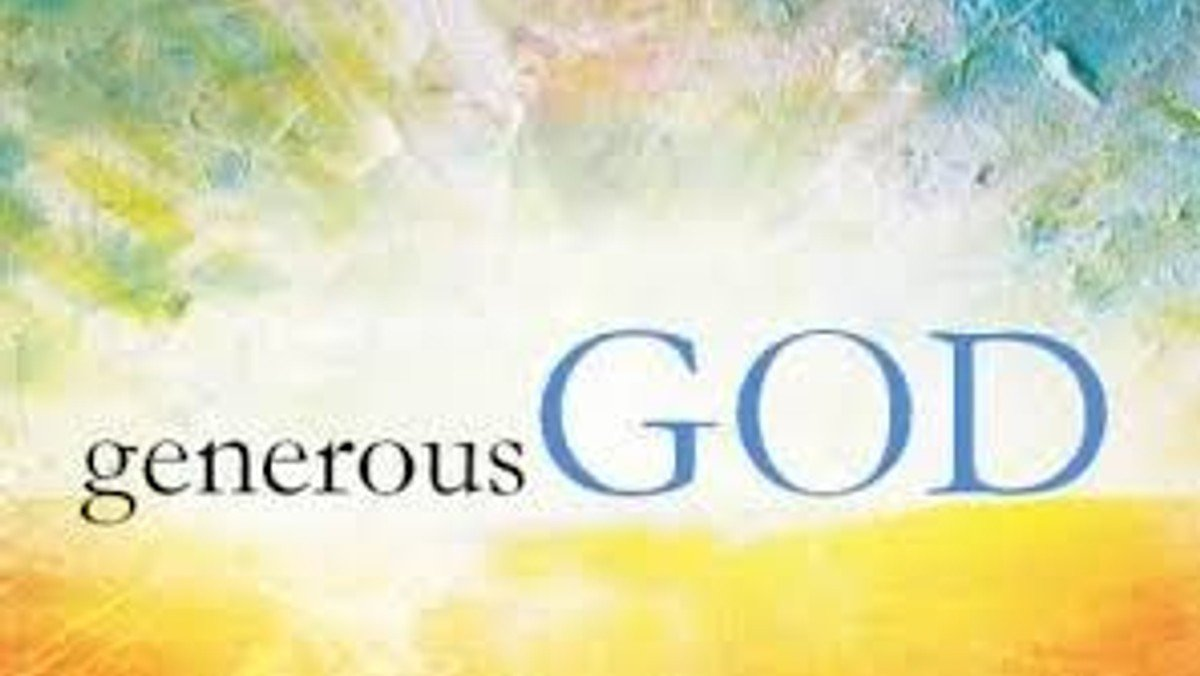 Generous God - sermon given by Andy Humphreys, Church
