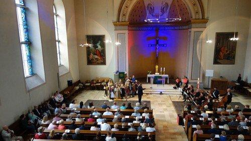 Gut besuchtes Konzert zum Reformationsjubiläum in der Evang. Kirche Haspe