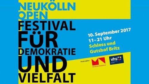 """""""Neukölln open"""" - Ein Tag im Zeichen der Demokratie"""