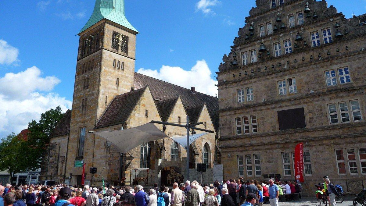 Fahrt des ev. Männervereins und der Frauenhilfe Weddinghofen ins Weserbergland