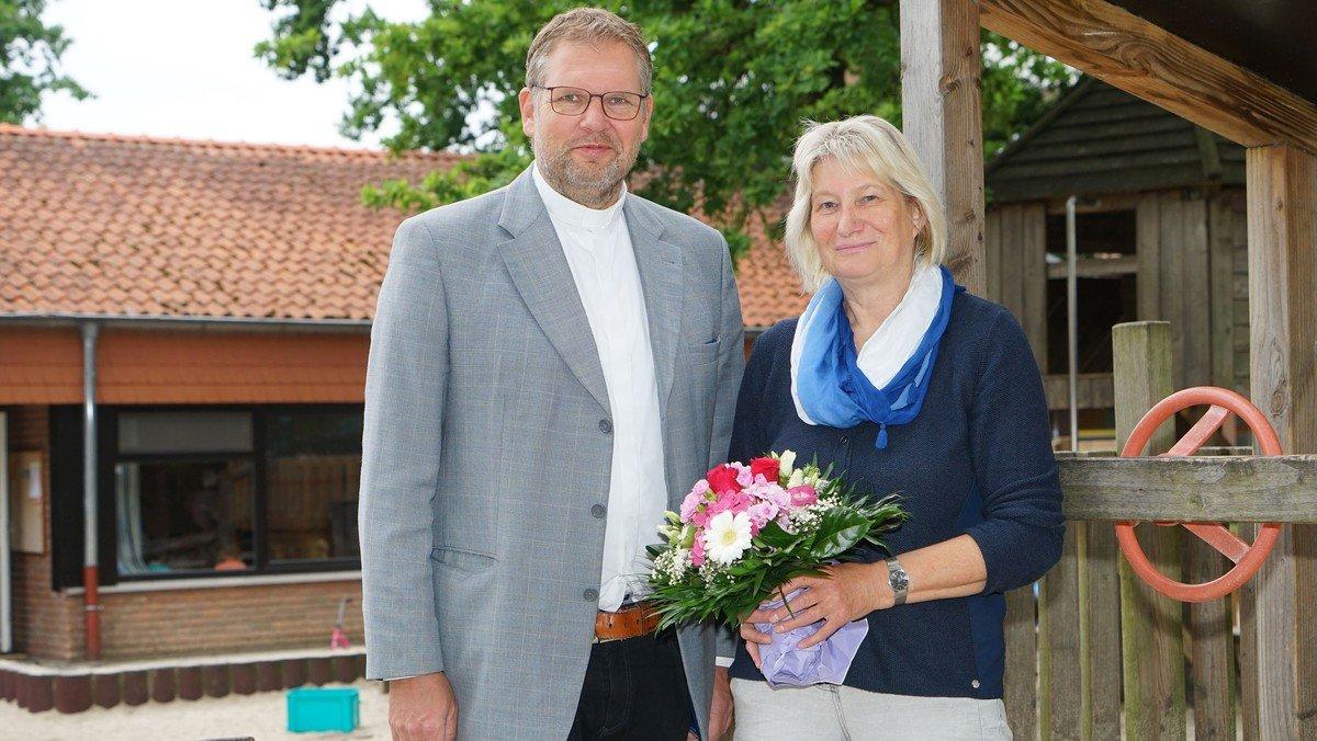 Karin Wisniewski ist jetzt offiziell Leiterin der Christus-Kindertagesstätte