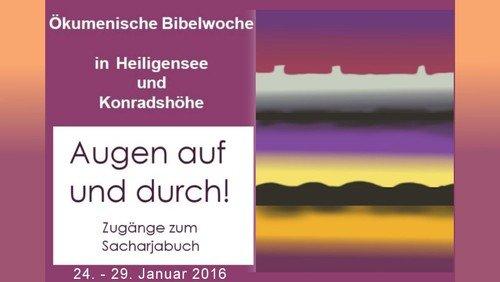 Ökumenische Bibelwoche 2016