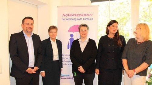 Diakonisches Werk Berlin Stadtmitte erweitert Notunterkunftangebot für wohnungslose Familien