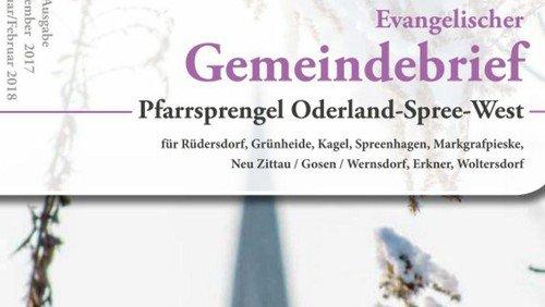 15. Evangelischer Gemeindebrief