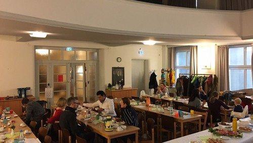 Familienbrunch in der SchönenMitte November 2017