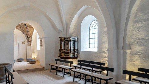 Sogneudflugt til Sdr. Asmindrup kirke og Hørby Færgekro, Torsdag d. 2. sept. 2021  kl. 13.00-ca.17.30