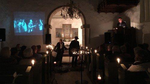 Band Dylan for fulde huse i Hjortdal Kirke