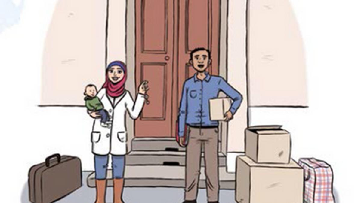 """""""Willkommen zu Hause"""" - Broschüre hilft Geflüchteten bei Wohnungssuche"""