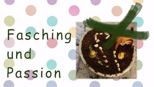 Fasching und Passion im Dorfkindergarten