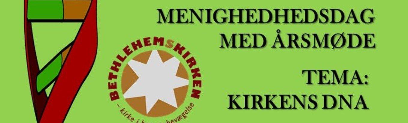 Menighedsdag: NB! flyttet til Tømrergade 9 - Dagsordenen er udsendt