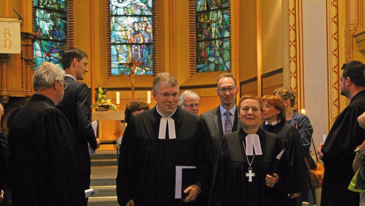 Dr. Christian Nottmeier als neuer Superintendent eingeführt