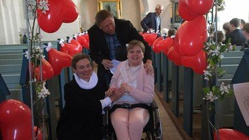 Konfirmand i Skelund Kirke 2018