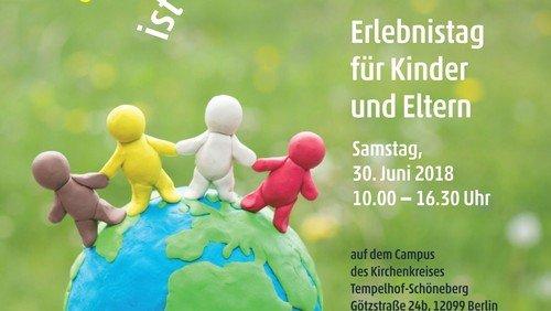 Gottes Schöpfung ist genial!  Kirchenkreis Familien-Erlebnis-Tag am 30.6.18 in der Götzstr.