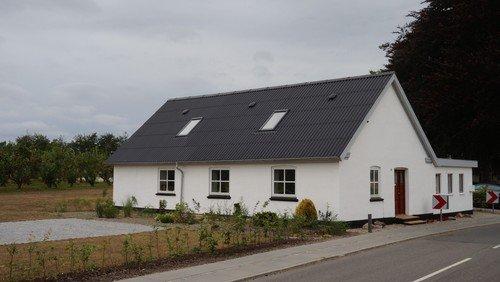 Kirkehuset i Skelund bygget større