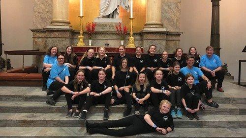 Korstævne i København med Arden, Astrup Og Rostrup ungdomskor