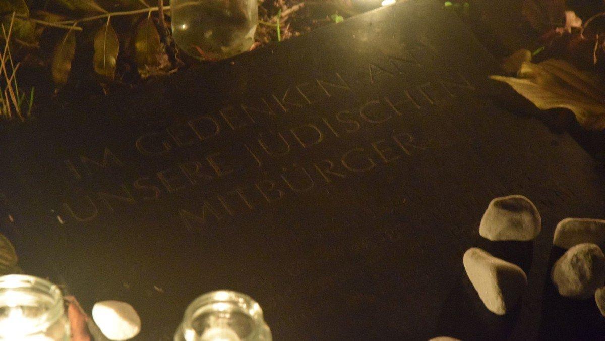 Gedenken an 80 Jahre Reichspogromnacht