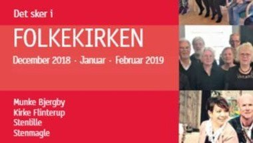 Kirkeblad for december-januar-februar 2018/19