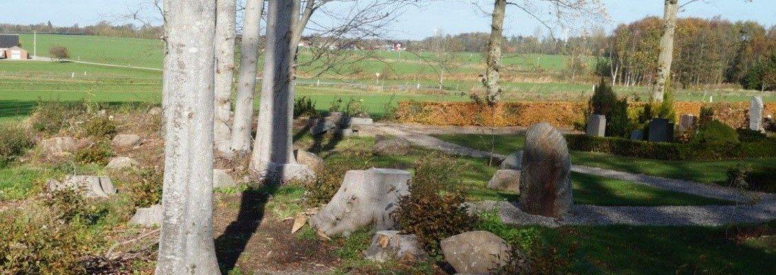 Hvad sker der på kirkegården ?