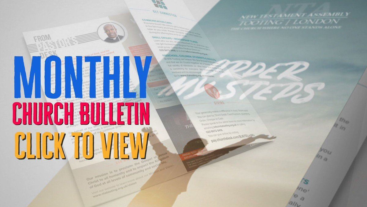 The Month of January| Monthly Bulletin | 2019 | House of Prayer