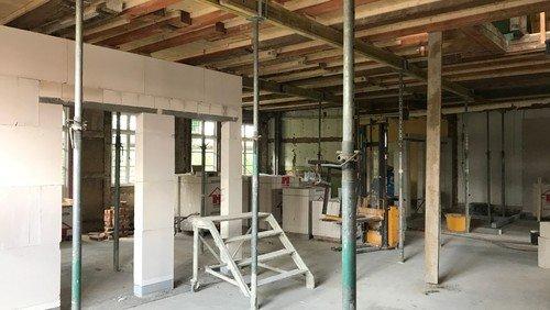 Umbau des Alten Pastorates zum Ev. Familienzentrum