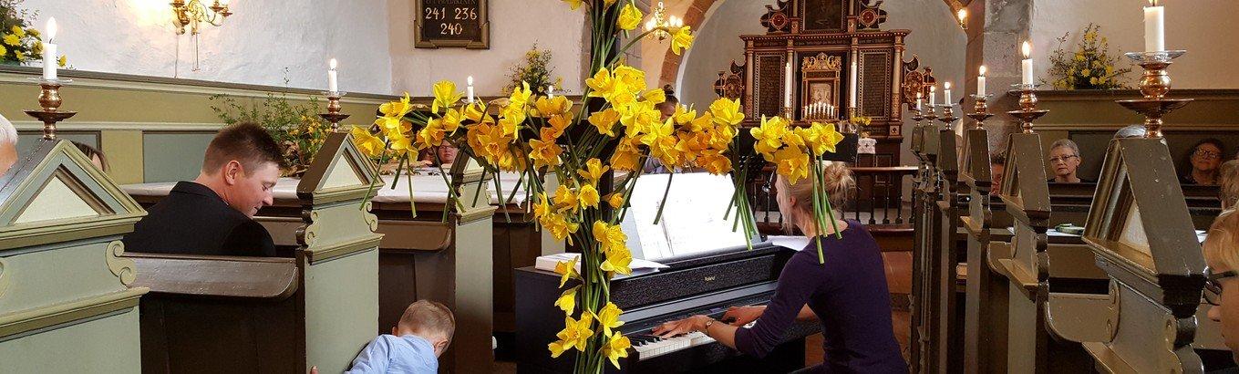 Vær med i påskekoret, som skal synge påskedag i Kettrup Kirke