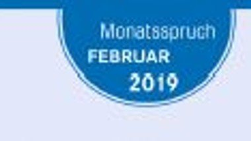 Monatsspruch Februar