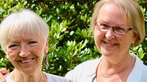 Fernisering med  Eva Vedsø og Ida Harsløf i Ølsemagle Sognegård torsdag d. 26. august 2021 kl. 17.30