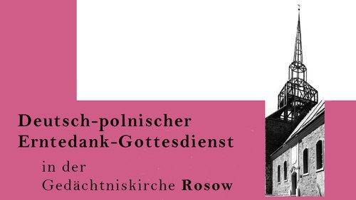Deutsch-Polnischer Erntedank in Rosow
