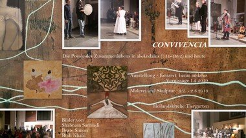 CONVIVENCIA - Vernissage und Konzert in der Heilandskirche
