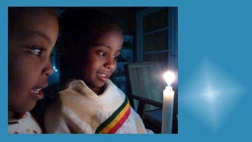 Weihnachtsgruß aus Äthiopien