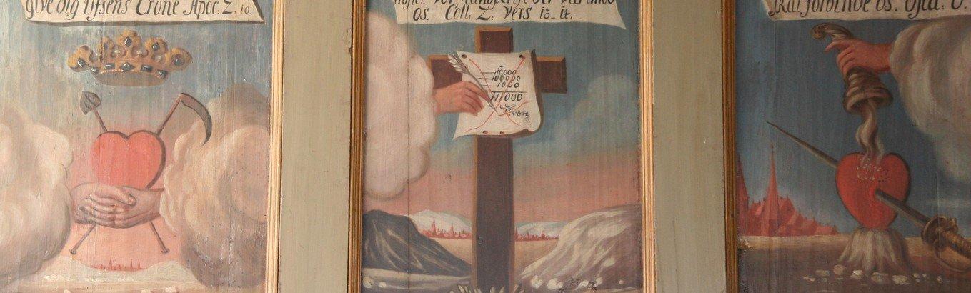 Pulpituret i Vester Thorup Kirke