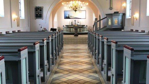Kirkebygningens opførelse