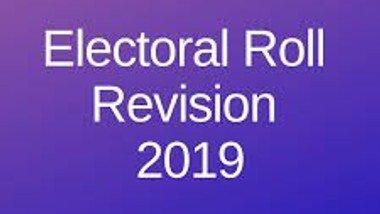 Electoral Roll Revision 2019