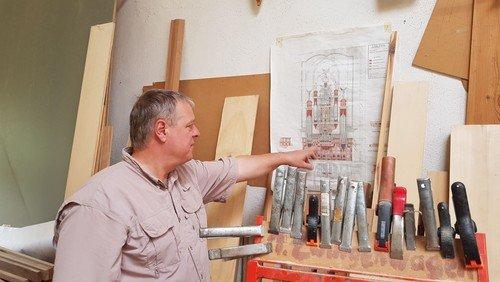 Vorabbesuch der Orgelwerkstatt Wegscheider in Dresden