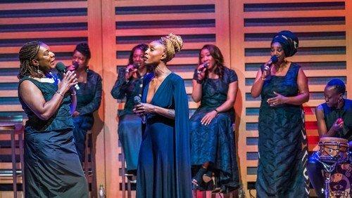 Cecelia Wickham-Anderson and the Gospel Choir