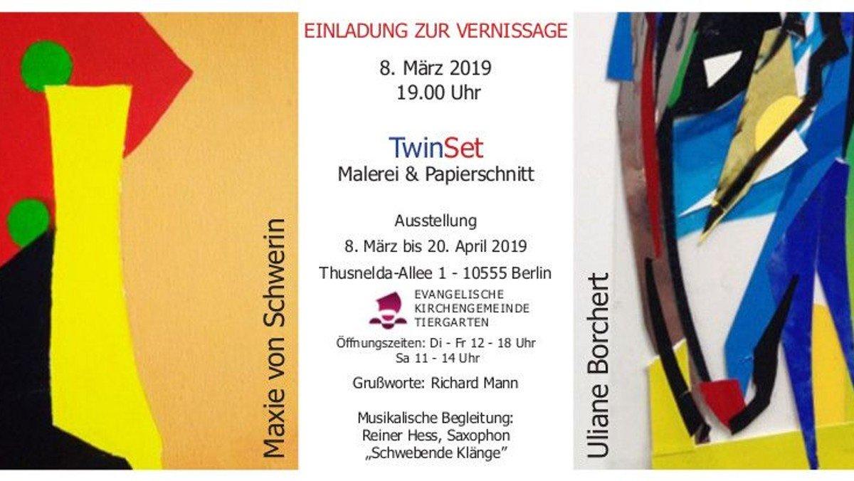 Vernissage und Ausstellung in der Heilandskirche am 8. März