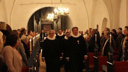 Indsættelse af Sognepræst Anne Bundgaard Hansen