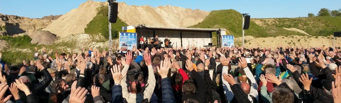 Koncert med store navne i Gøttrup Grusgrav fredag 14. juni
