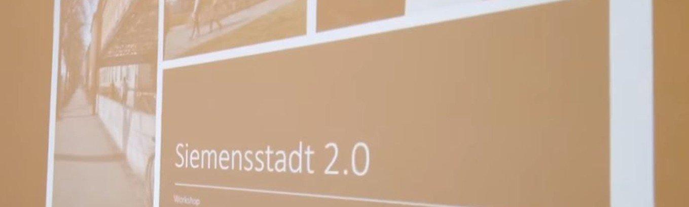 Siemensstadt 2.0 - Völlig frei denken für die Kirche in der Stadt