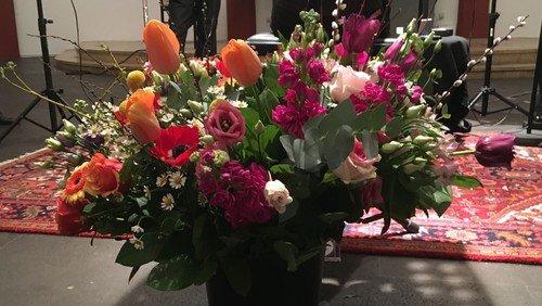 Abschied von unserer Blumenfrau